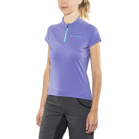 Endura SingleTrack Lite Short Sleeve Jersey Women cobaltblue